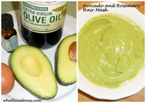 Avocado hair mask1
